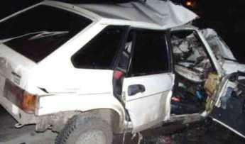 Во Владикавказе при столкновении пострадали оба водителя ВАЗов