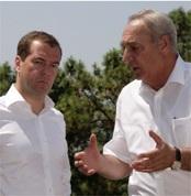 Годовщина войны – в Осетии, а Медведев – в Абхазии