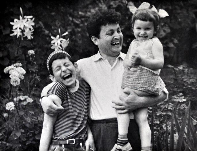 Счастливый отец. Июль 1971 г.