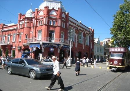"""Супермаркет """"Солнечный на проспекте Мира."""
