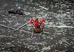 Рынок взорван не смертником, а покойником // Милицию заподозрили в халатном досмотре владикавказского террориста
