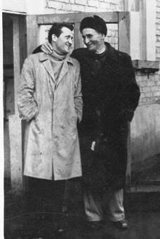 С дедом Борисом.