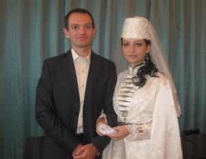 Свадебная «десяточка» во Владикавказе