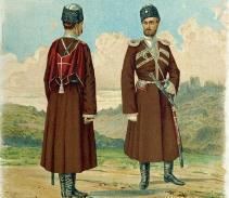 Осетины в Дагестанском конном полку