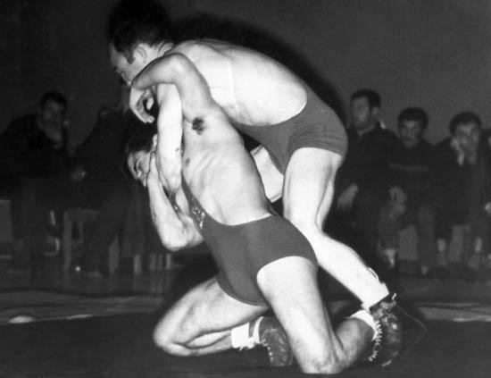 Спартакиада народов РСФСР. Елкан Тедеев и Мелс Кочиев, 1963 год.