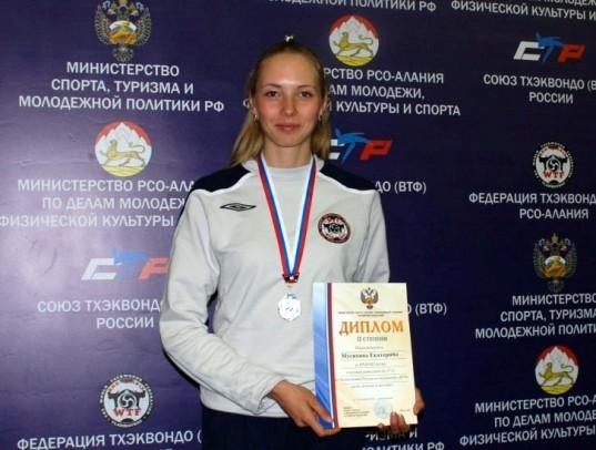 """Екатерина МУСИХИНА принесла Северной Осетии """"серебро""""."""