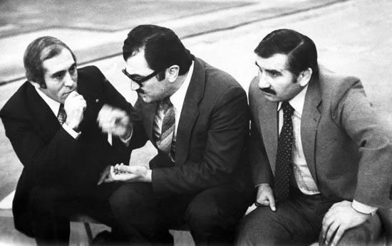 Слева-направо: Р.Ашуралиев, К.Доев, Е.Тедеев.