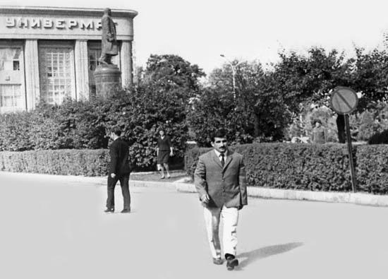 Перед поездкой на Олимпиаду в Мехико. Владикавказ, 1968 год.