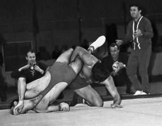 4 Спартакиада народов СССР поединок с Карсаулидзе, 1967 г.