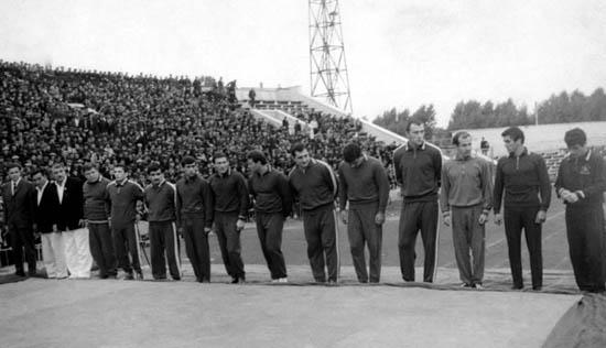 Сборная команда СССР и Ирана, 1966 г.