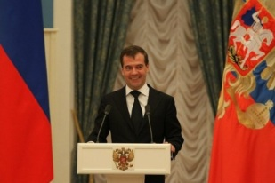 Президент России поблагодарил Дзамболата ТЕДЕЕВА и Бесика КУДУХОВА