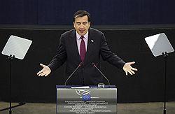 День несогласия и примирения // К седьмой годовщине «революции роз» Михаил Саакашвили решил протянуть России руку дружбы