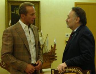 Игорь КЕСАЕВ награжден медалью «Во славу Осетии»