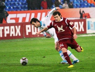 Футбольная лезгинка от Алана Касаева.