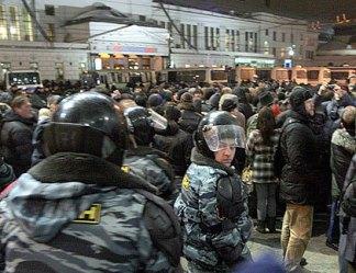 Эскалация ненависти. Москва может стать сплошным ОМОНом