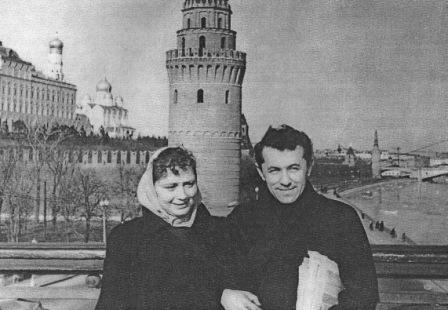 Наталья Тарасенкова и Хаджи-Мурат Дзуццати. Счастливое время, когда все еще впереди.