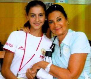 Диана Боциева и Ирина Винер. Кубок мира, 2007 г.
