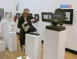 Осетинское трио представило свои работы в Центральном Доме художника в Москве