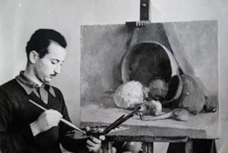 В молодые годы Царикаев занимался всеми видами изобразительного искусства.