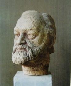 Портрет художника Владимира Кцоева.