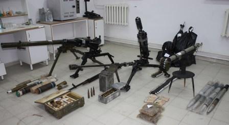 Во Владикавказе изъят арсенал из восьми пулеметов и 11 тысяч боеприпасов