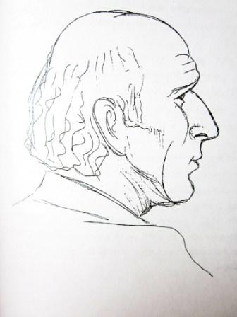 Нох ТОКАЕВ. Рисунок Николая ХОДОВА.