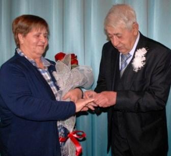 «Золотая» свадьба Дмитрия и Раисы БАТИЩЕВЫХ