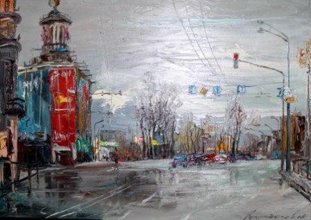 Михаил КУЛУМБЕГОВ. Столичный пейзаж.