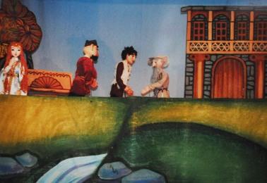 """Спектакль Н. Саламовой """"Арсой"""", 2001 г."""