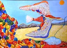 Картины Тимура АНДИЕВА переехали в Верхнюю Пышму, дальше – Киров
