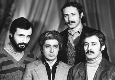 Цирковая династия БУТАЕВЫХ: (слева направо) Константин, Леонид, Сергей, Юрий.