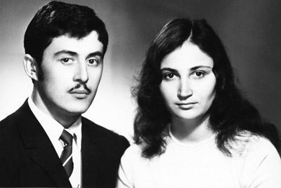 Любимые родители - Юрий и Хадизат БУТАЕВЫ.