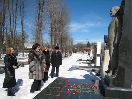 Актеры почтили память великого артиста Владимира БАЛЛАЕВА