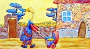 Ребенок Индиго покажет свои картины