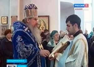 Архиепископ ЗОСИМА провёл праздничную литургию во Владикавказе