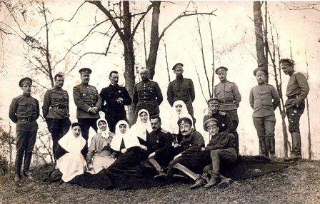 Белые во Владикавказе.