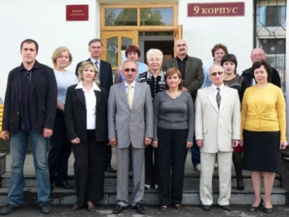 Кафедра архитектуры СКГМИ.