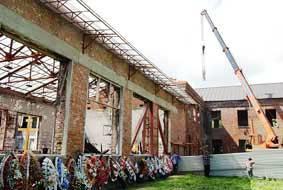 Мемориал в Беслане: строительство началось