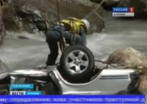 В горной реке Ардон найдено тело одного из пассажиров «Волги»
