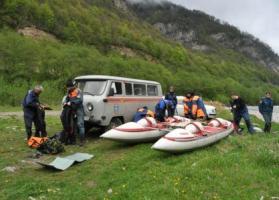 Второй погибший в автоаварии обнаружен,  поисковые работы на реке Ардон завершены