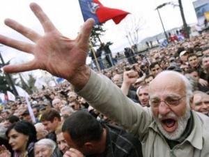 Грузинская оппозиция пустила Россию в ВТО