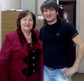 Вано Бекоев и Светлана Бацазова.