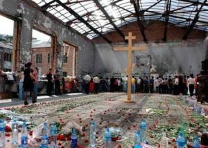В Беслане в школе №1 продолжается строительство мемориального комплекса