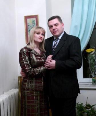 Двадцать лет вместе. С мужем Романом Беляевым.