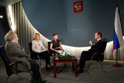 Дмитрий МЕДВЕДЕВ «В Южной Осетии не «прокатило», и это фатальная ошибка Грузии»