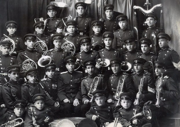 Оркестр Дзауджикауского военного училища МВД.
