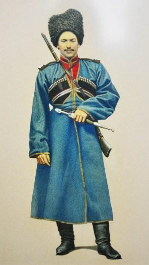 Константин КУКИЕВ, казак-осетин.