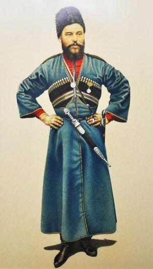 Григорий СОБИЕВ, казак-осетин.