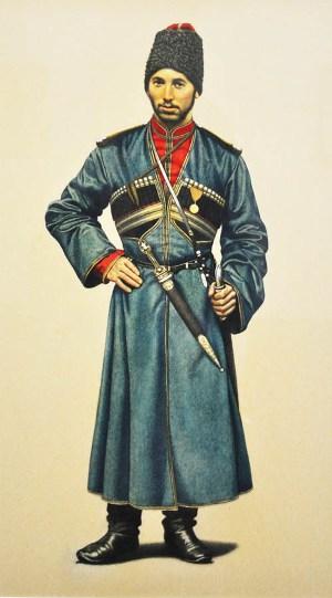 Сашко ГУЛЬЧИЕВ, казак-осетин.