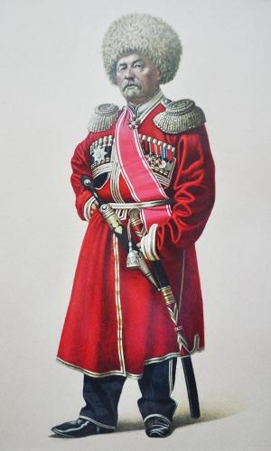 Игнатий (Асланбек) ТУГАНОВ, ротмистр.